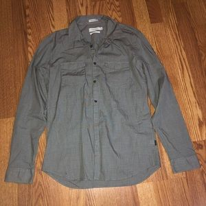 Calvin Klein Slim Fit Medium Button Down Shirt